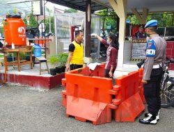 Di Sibolga, Masuk Kantor Polisi Wajib Cuci Tangan dan Periksa Suhu Tubuh; Cegah Penyebaran Corona