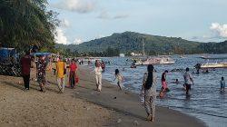 Sejumlah Lokasi Wisata di Tapteng Mulai Buka; Begini Kondisi Pantai Pandan di Lebaran Kedua