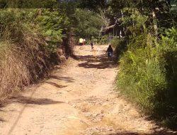 Jalan Menuju Objek Wisata Aek Harse Rusak Parah, Butuh Perhatian Pemkab Tapteng