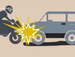 Laka Lantas di Muara Nibung, Sepeda Motor Kontra Mobil Avanza