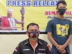 Transaksi Sabu dengan Petugas, Buruh Bangunan Digelandang dari Gang Cindy Point