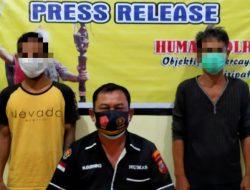 Di Warung Ini Sering Transaksi Narkoba; 2 Pria Berhasil Diamankan Polisi