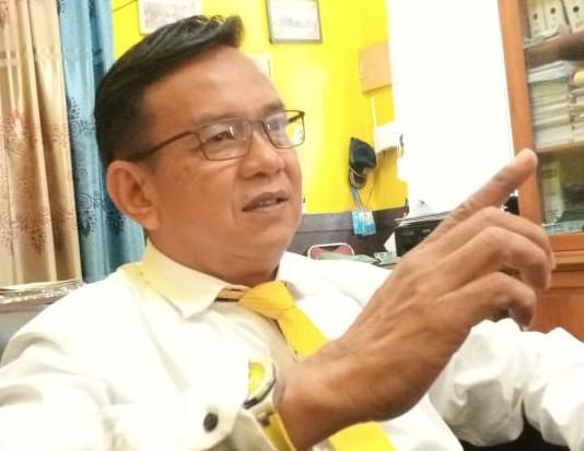 Foto : Wakil Ketua DPRD Sibolga, Jamil Zeb Tumori