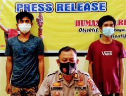 2 Pria Diamankan dari Kampung Solok; Disita 2 Paket Sabu-sabu