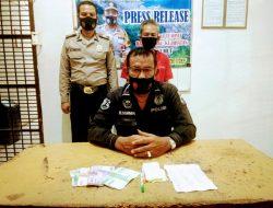 Penarik Becak Ditangkap di Simpang Jalan Murai; Polisi Temukan Ini Sebagai Barang Bukti
