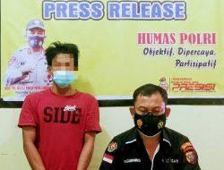 'Kampung Narkoba' di Tapteng Digrebek Polisi; Ditemukan Seorang Pria dan 16 Paket Sabu Didalam Rumah