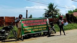 Jaringan Masyarakat Sipil Peduli Pembangunan Minta APH Awasi Proyek Pemeliharaan Jalan Nasional Sibolga-Barus