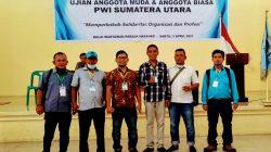6 Wartawan Sibolga-Tapteng Lulus Ujian PWI