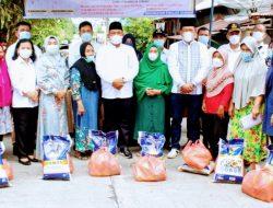 Serahkan Bansos Janji Kampanye, Jamaluddin Pohan; Bersyukur Kota Sibolga telah terbebas dari PPKM Mikro diperketat