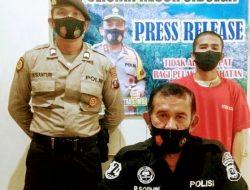 Disuruh Antar Sabu, Warga Andam Dewi Ditangkap Didepan SPBU Sorkam