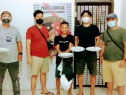 Disita Barang Bukti Piring dari Warga Santeong
