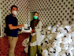 1200 Paket Sembako dari Martin Manurung Untuk Masyarakat Tapteng