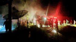 3 Rumah Kontrakan di Gang Kenanga Ludes Terbakar