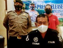 Pengedar Sabu Warga Huta Barangan Ditangkap saat Jenguk Ayahnya Sakit